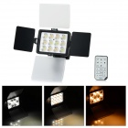 LED-1040A Universal 36W 2850lm 12-LED Camera Video Light - Black