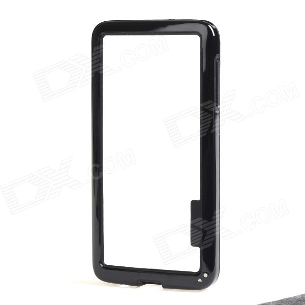 Protective TPU + PC Bumper Frame for Samsung Galaxy A3 - Black fashionable protective bumper frame case with bowknot for samsung galaxy s3 i9300 black