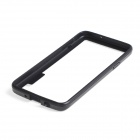 Protective TPU + PC Bumper Frame for Samsung Galaxy A3 - Black