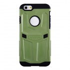 NILLKIN Stronger Series Protective TPU + PC Back Cover Case for IPHONE 6 - Green