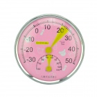 TH101 Cute Indoor Kids Room Dial Thermometer - Pink
