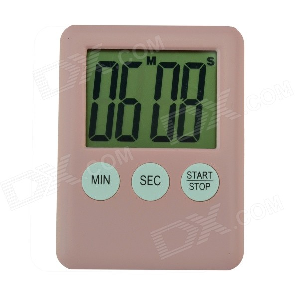 2 LCD Power Saving Digital Timer - Pink (1 x LR1130) беговел puky lr 1l 4010 pink розовый