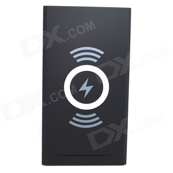 K7 Universal Qi Standard Mobile Wireless Power Charger - Black universal qi wireless charger for cellphone white