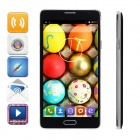 "FineSource Android 4.4 Quad-Core WCDMA Бар телефон ж / 5,5 "", 8GB ROM, Wi-Fi, GPS, OTA - черный"