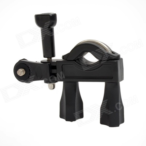 TOZ Universal Bike Bicycle Plastic Mount Holder for GoPro 4 / 3 / 3+ / 2 / 1 / SJ4000 / DV - Black toz bike motorcycle handlebar seatpost mount holder w 1 4 screw for gopro sj4000 other dv