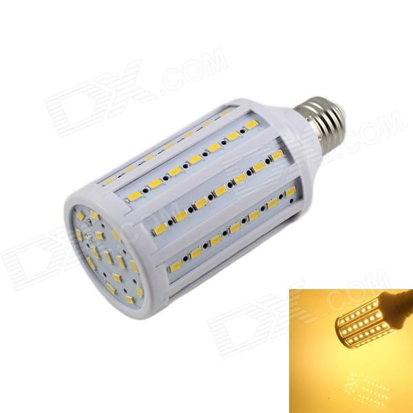KINFIRE E27 20W 1600lm 3000K 84 x 5730 SMD LED Warm White Light Corn