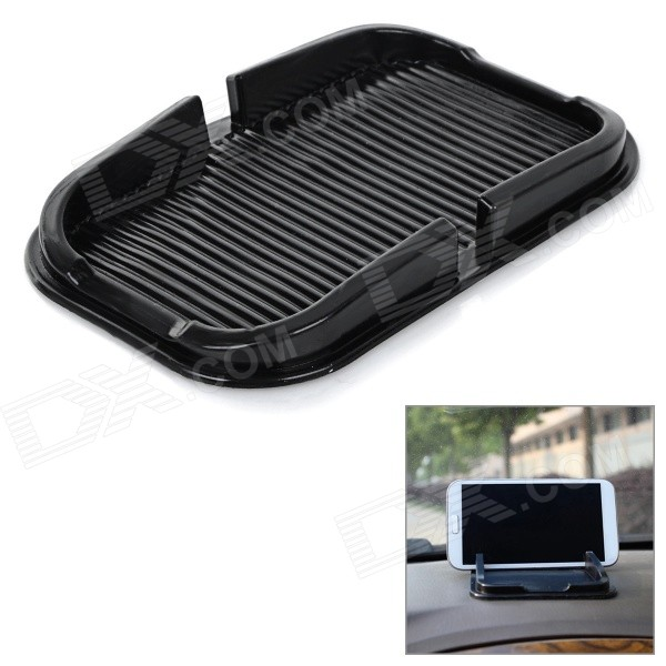 PVC Car Anti-Slip Non-Slip Mat Pad Holder for IPHONE / Samsung / Xiaomi / HTC & More - Black