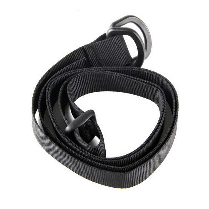 EDCGEAR High Strength Nylon Dual-Buckle Backpack Tying Band - Black