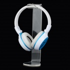 Engrossado Acrílico Headphone / Headset Hanger Stand Holder - Transparente