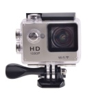"EOSCN W7 HD 1080P Waterproof 2/3"" CMOS 12MP Sports Camera - Golden"