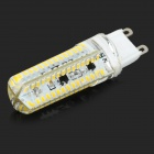 JRLED G9 8W 500LM 3300K 120-SMD 3014 LED de la lámpara de maíz blanco cálido regulable