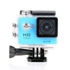 "EOSCN W7 HD 1080P Waterproof 2/3"" CMOS 12MP Sports Camera - Blue"