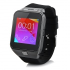 "M9 1.54"" Touch Screen Smart GSM Watch Phone w/ Bluetooth, TF - Black + Grey"