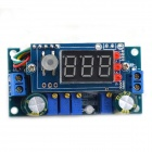 Jtron 5A DC-DC 3-Digit Display Buck Module / MPPT Controller - Blue