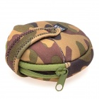 CADEN H10 Elastic Water Resistant 4-Filter Storage Bag Case for CPL / MC-UV / ND Lens - Camouflage