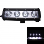 GULEEK 40W Type/C 3000lm 6000K 4-LED White Flood Beam Working Light for Car / Boat (10-30V)