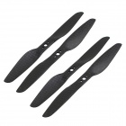5055 Carbon Fiber Propeller CW/CCW 2-Pair for 200 / 250 / 300 Quadcopter  - Black (2 Pairs)