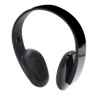 S180 Bluetooth V4.0 + EDR Wireless Stereo Headband Headphones w/ Microphone - Black