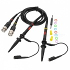 P2020 1X / 10X 20MHz Oscilloscope Scope Clip Probe Set - Black