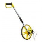 BESTIR BST-01381 Mechanical Collapsible Distance Measuring Wheel - Yellow + Silver + Black