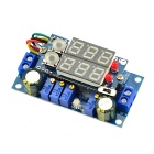 Jtron 5A DC-DC Multifunction Double Display Voltmeter Buck Module - Blue