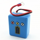 E12 12V Car Battery Remaining Capacity Tester - Blue