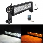 MZ 84W 7020lm White + Yellow Beam LED Worklight Bar Off-road 4WD UTV Lamp w/ Remote Controller