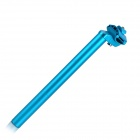25.4 x 300mm Aluminum Alloy Seat Post Tube for Fixed Gear - Blue