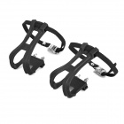 Foot Fixed Binding Pedal Straps Set for Fixed Gear / Mountain Bike - Black (Pair)