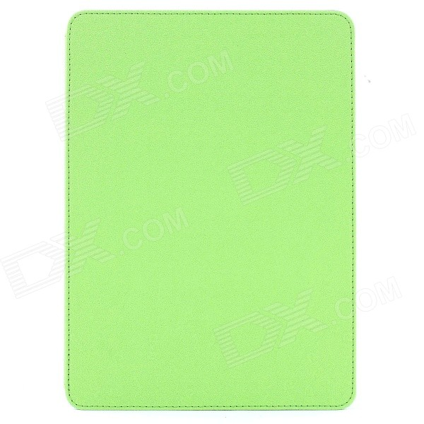 Mr.northjoe Protective PU Leather Flip Open Case w/ Stand / Auto Sleep for IPAD AIR 2 - Green oracle bones pattern protective pu tpu flip open case w stand auto sleep for ipad air red