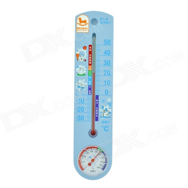 G337 Indoor & Outdoor Thermometer - Blue