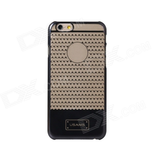 "USAMS Electroplating Plastic Back Cover Case for IPHONE 6 Plus 5.5"" - Grey"