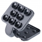 Universal 360' Rotating Suction Cup Multifunctional Holder Stand for Cellphone - Black