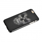 3D Skull Head Pattern Plastic Back Case for IPHONE 6 PLUS - Black