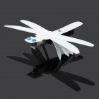 DIY Vibrating Educational Montage Dragon Fly Spielzeug - White + Black