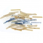 DIY 1/4W Colored Ring Carbon Film Resistors Set - Blue (20 x 10PCS)