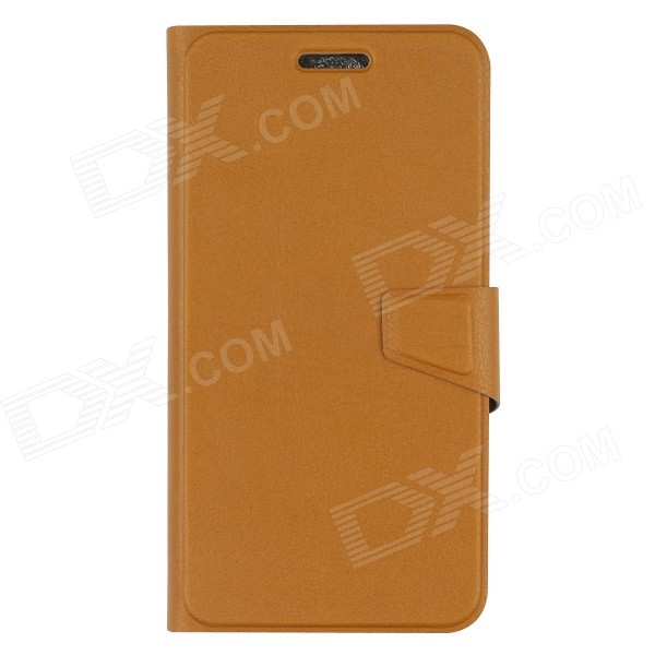 OUSHINE Protective PU Leather Case for DOOGEE DG310 - Brown