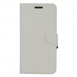 OUSHINE Protective PU Leather Case for DOOGEE DG310 - White
