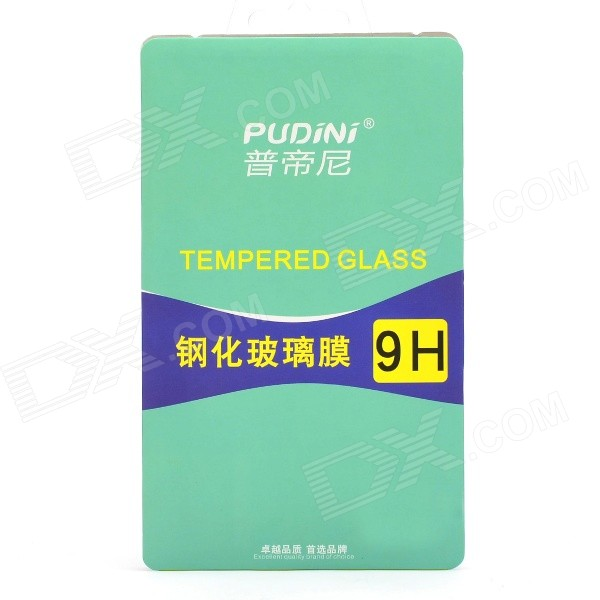 PUDINI 2.5D 9H 0.33mm Thin Protective Tempered Glass Screen Guard for HTC Desire 820 Mini pudini protective 0 4mm tempered glass screen protector guard film for samsung galaxy s4 i9500