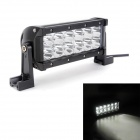 MZ 36W 3060lm 6000K LED White Spot Beam Worklight Bar Off-road Lamp 4WD UTV Driving Light w/ Lens