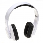 i5 Stereo Bluetooth V2.1 + EDR Headband Headphone w/ FM / Microphone - White