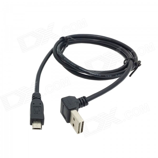 CY U2-290-1.0M Reversible 90 Degree Angled USB 2.0 Male to Micro USB 5Pin Male Cable - Black (1m) image tamper detection using reversible watermarking