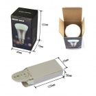 JIAWEN 8W 10*3535 SMD Dimmable RGB Bulb Light w/ Remote Controller
