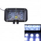 GULEEK 60W 4500lm 6000K 6-LED White Spot Beam Working Light for Car / Boat (10-30V)