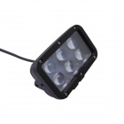 GULEEK 60W 4500lm 6-LED White Spot Beam Working Light for Car / Boat
