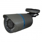 HOSAFE 2MB2G 1080P 2.0MP Waterproof Security IP Camera w/ Night Vision, POE - Dark Grey