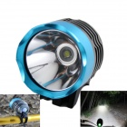 KINFIRE U2 7.2~8.4V 600lm 3-Mode Cool White Bicycle LED Light - Blue + Gray