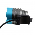 Kinfire U2 7.2 ~ 8.4V 600lm 3-Mode frio branco bicicleta LED Light