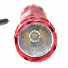 UltraFire LED 10W 1-Mode 800lm Bright Warm White Flashlight - Red (1 x 18650 / 2 x CR123A)