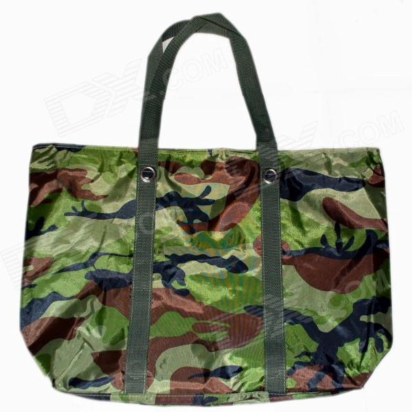 Stylish Water Resistant Shoulder Bag / Messenger - Camouflage